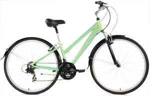 Ladies Mint Green Gravity Dutch Hybrid City bikes