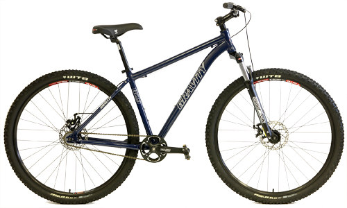 Gravity SingleSpeed 29ers G29 FS Single Speed Lockout Suspension Forks