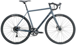 Motobecane Omni Strada ELITE Powerful DISC Brakes /Slick Internal Cable+Dropper Post Routing/ Shimano 2X8Spd / Carbon Forks Fits Wide Tires SALE $699 Save Over 60% WTB Tires, Tubeless Compat Whls List $1499