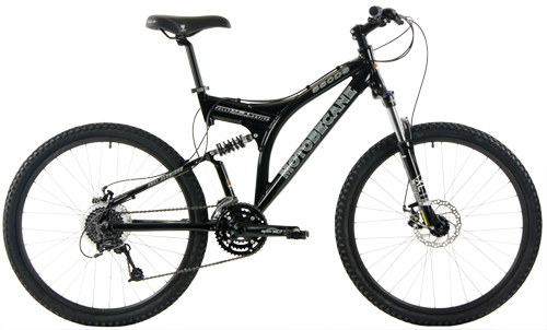Motobecane 550DS Full Suspension Mountain Bikes