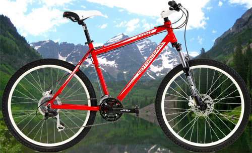 Motobecane Hydraulic Disc Brake Mountain Bikes